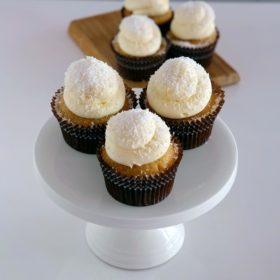 Pineapple Coconut Cupcakes Auckland