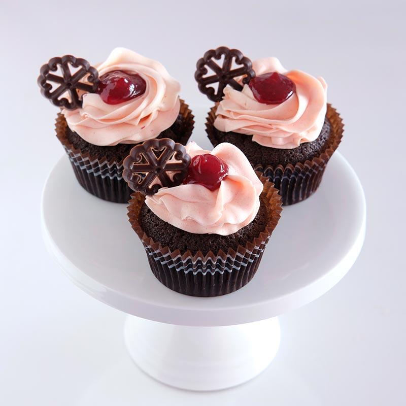 Raspberry Choc Cupcakes Auckland