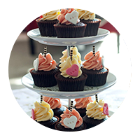 Wedding Cupcake Display Towers