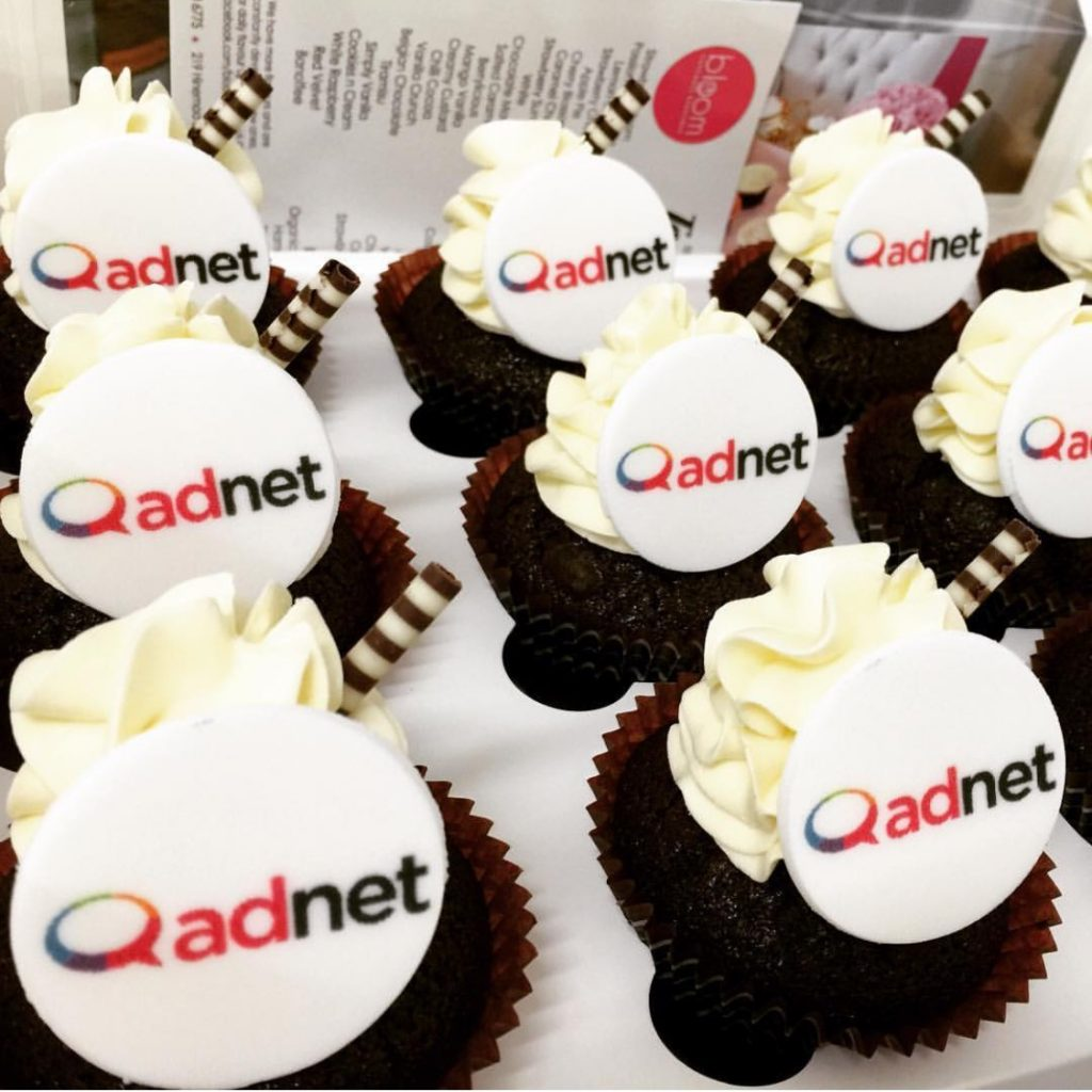 Corporate Cupcakes for Adnet