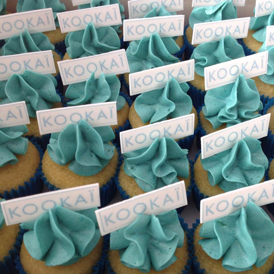 Corporate Cupcakes for Kookai