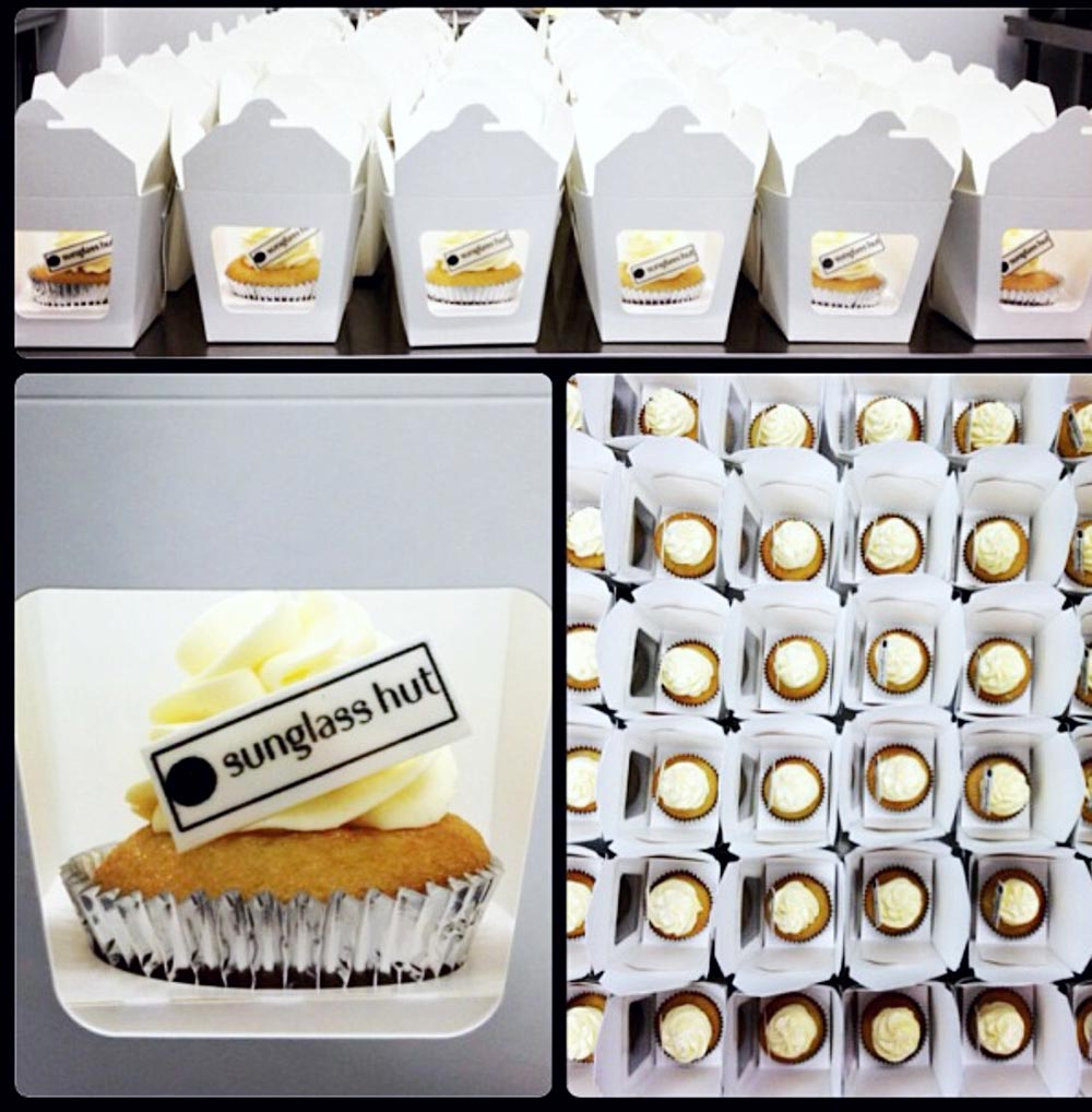 Corporate Cupcakes for Sunglasses Hut