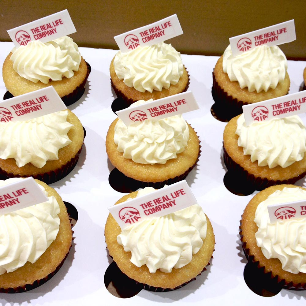 Corporate Cupcakes for The Real Life Company